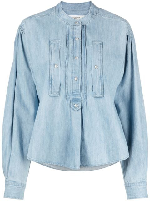 <p class='small-title'>ISABEL MARANT ÉTOILE</p>Denim Blouse