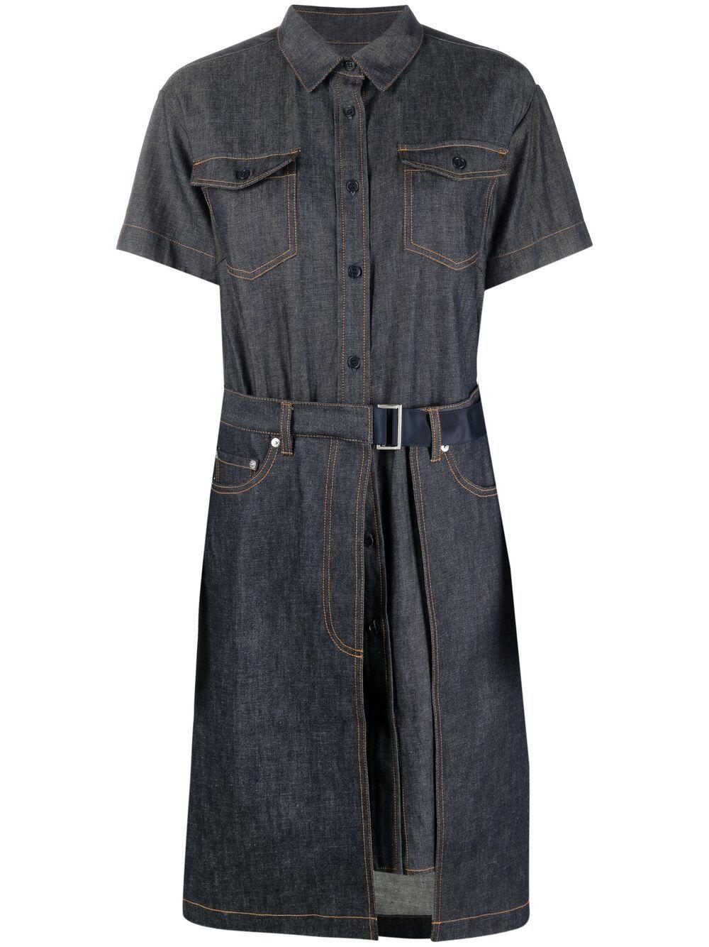 <p class='small-title'>A.P.C. X SACAI</p>Keiko Dress