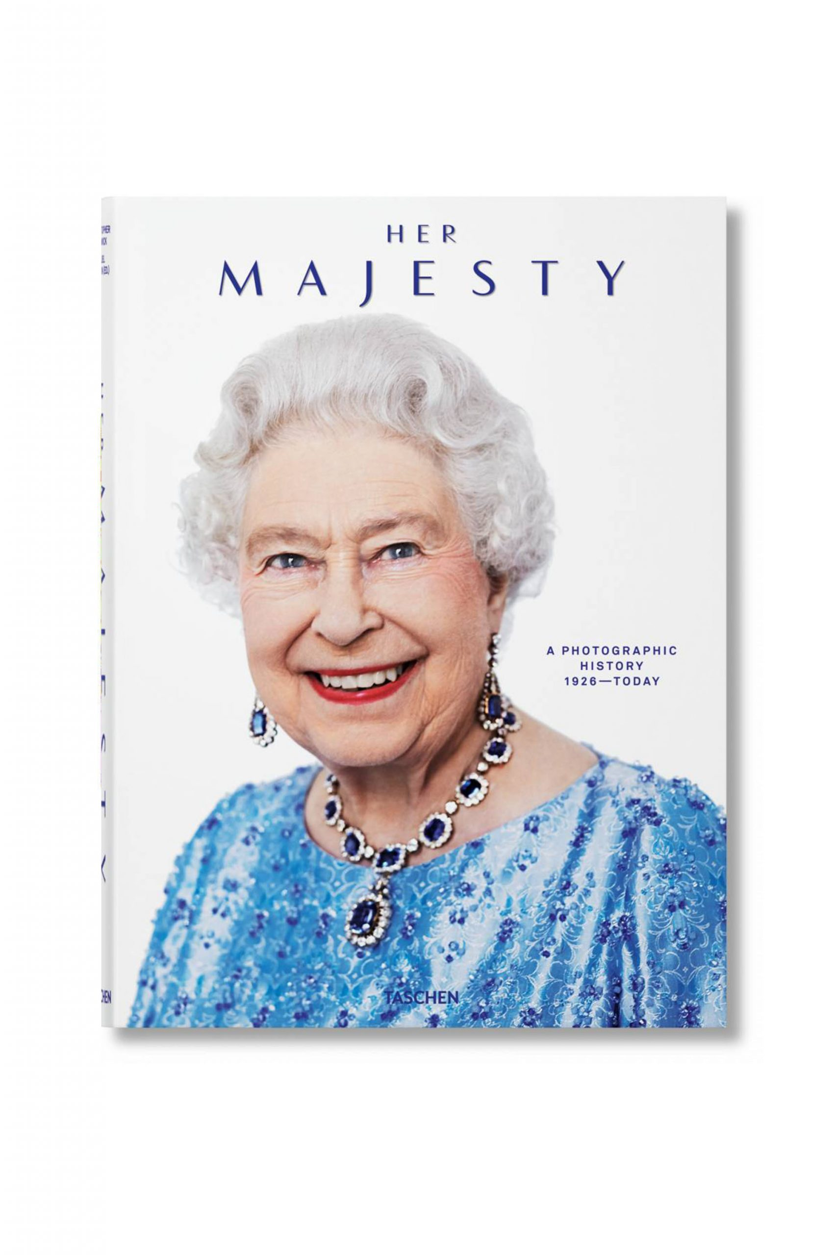 <p class='small-title'>TASCHEN</p>HER MAJESTY A PHOTOGRAPHIC HISTORY 1926–TODAY