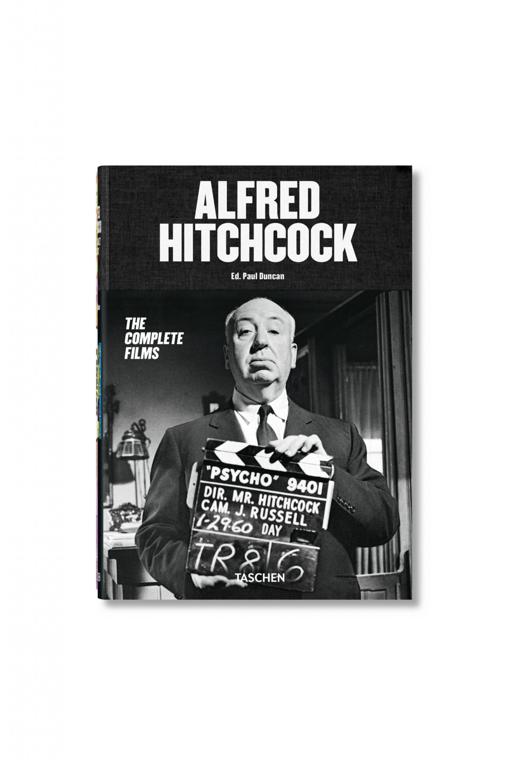<p class='small-title'>TASCHEN</p>Alfred Hitchcock. The Complete Films