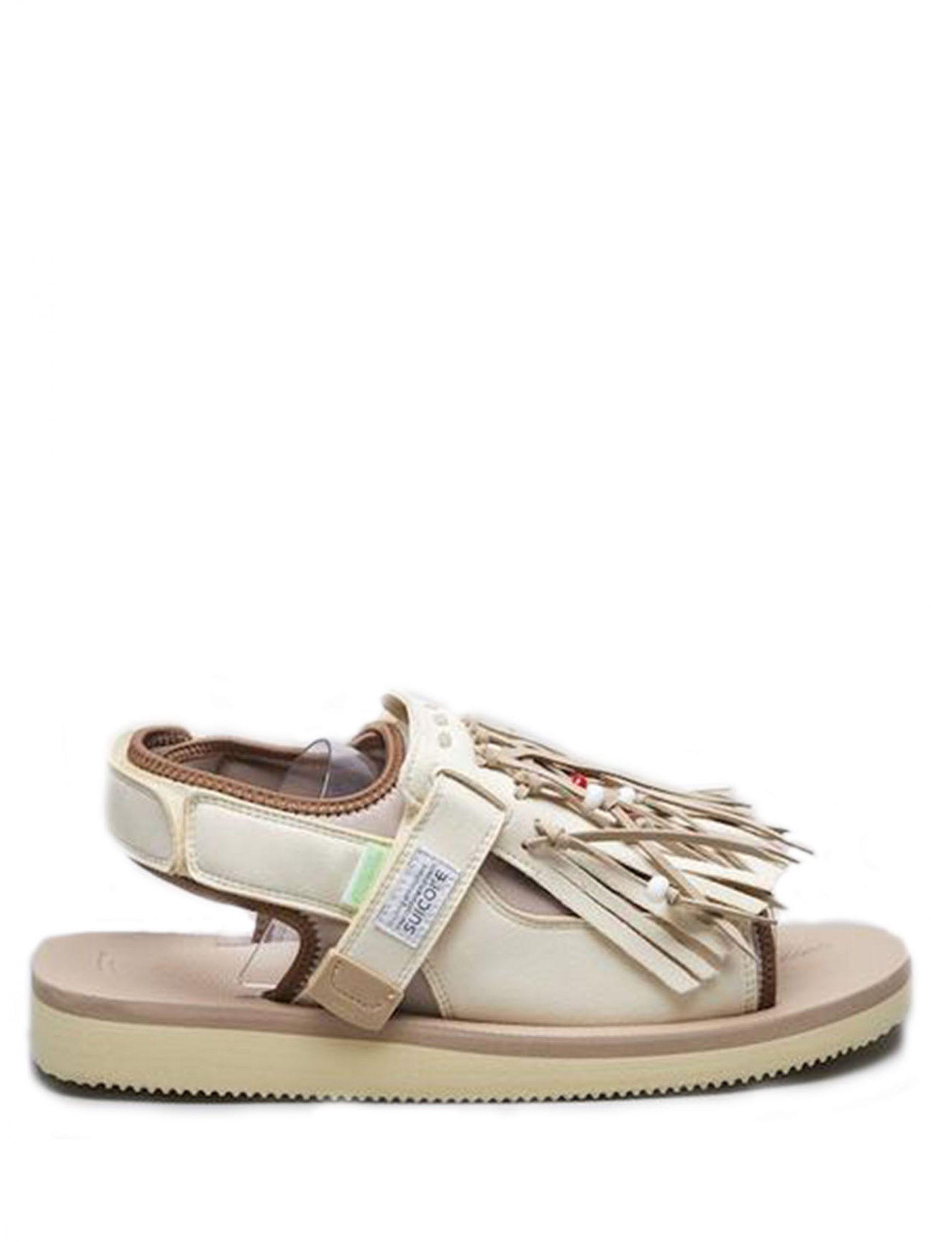 <p class='small-title'>SUICOKE</p>Depa Multi Strap Flat Sandals