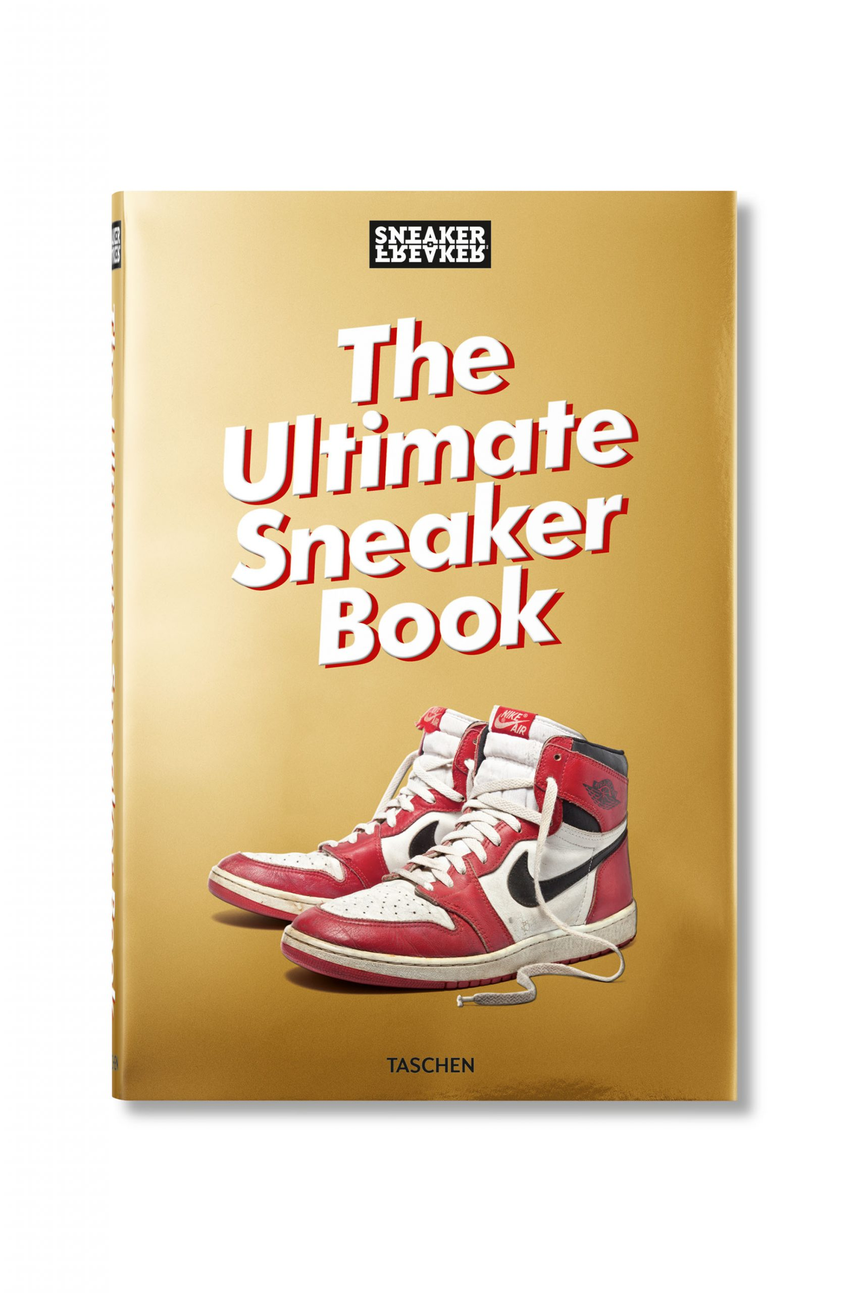 <p class='small-title'>TASCHEN</p>THE ULTIMATE SNEAKER BOOK