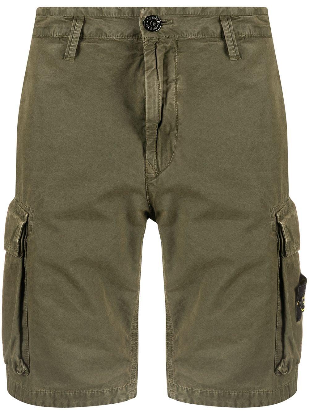 <p class='small-title'>STONE ISLAND</p>Bermuda Shorts