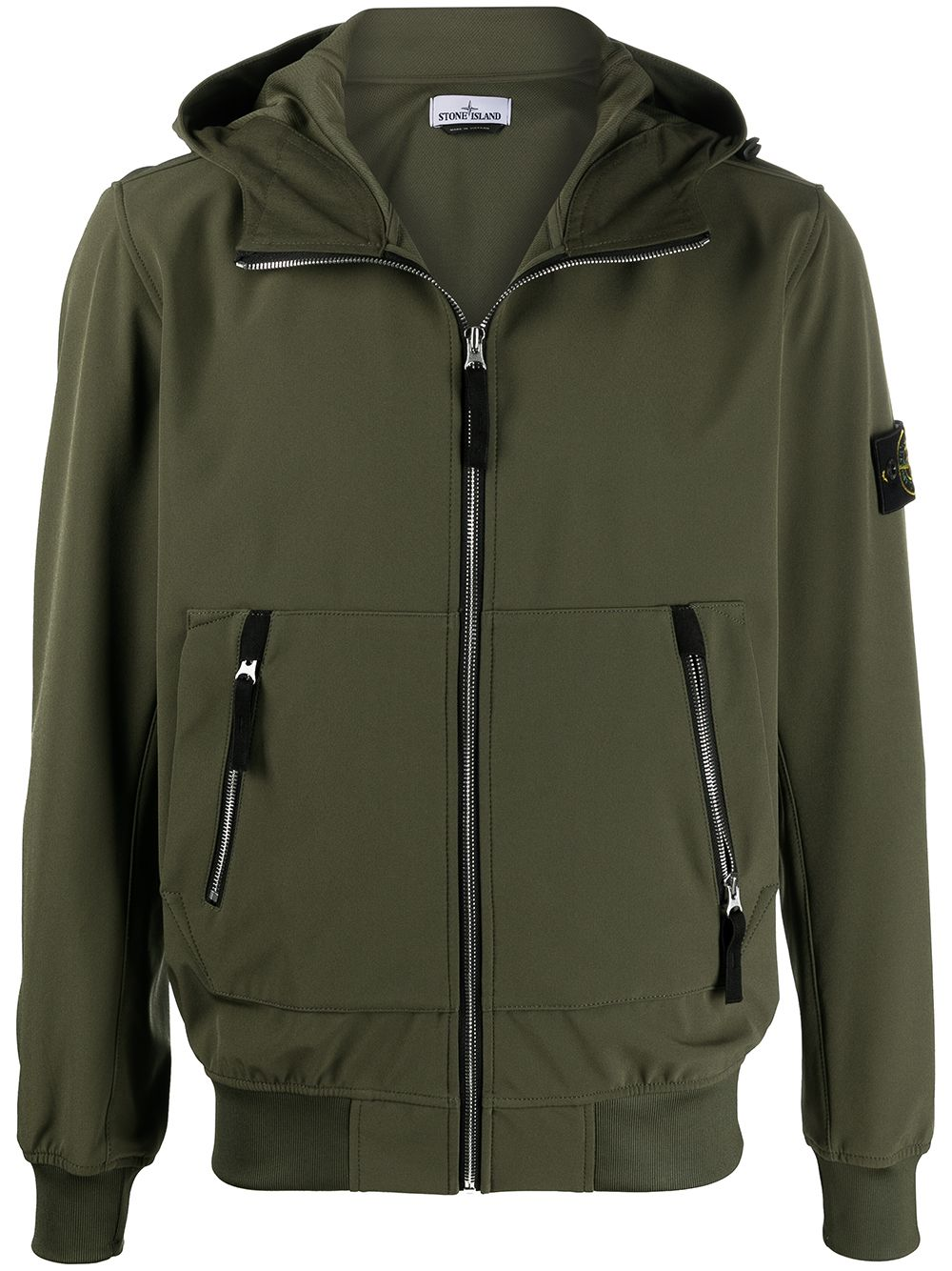 <p class='small-title'>STONE ISLAND</p>Hooded Jacket
