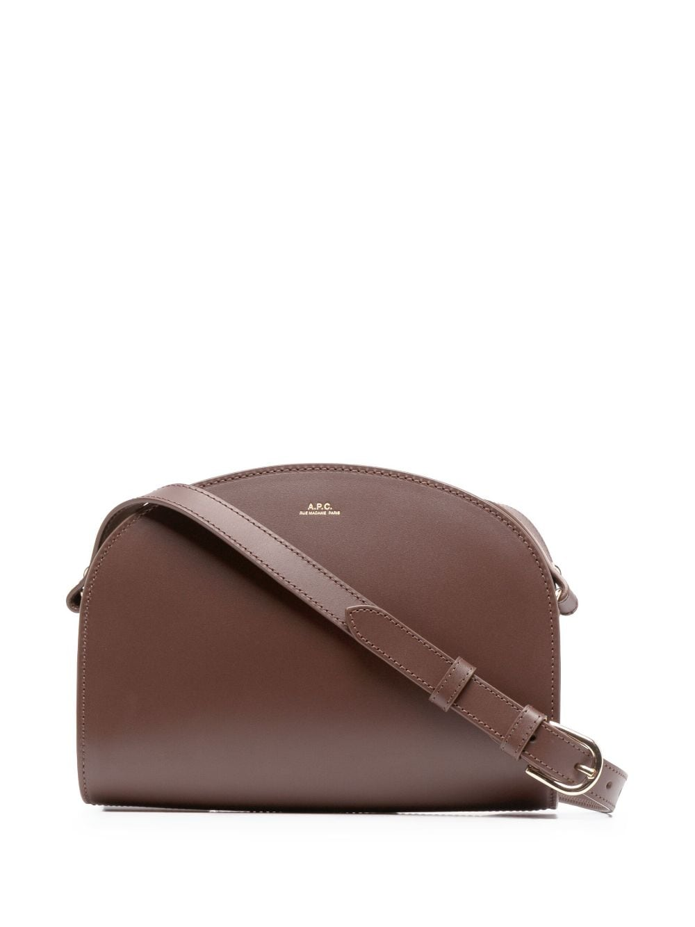 <p class='small-title'>A.P.C.</p>Demi-Lune Satchel Bag