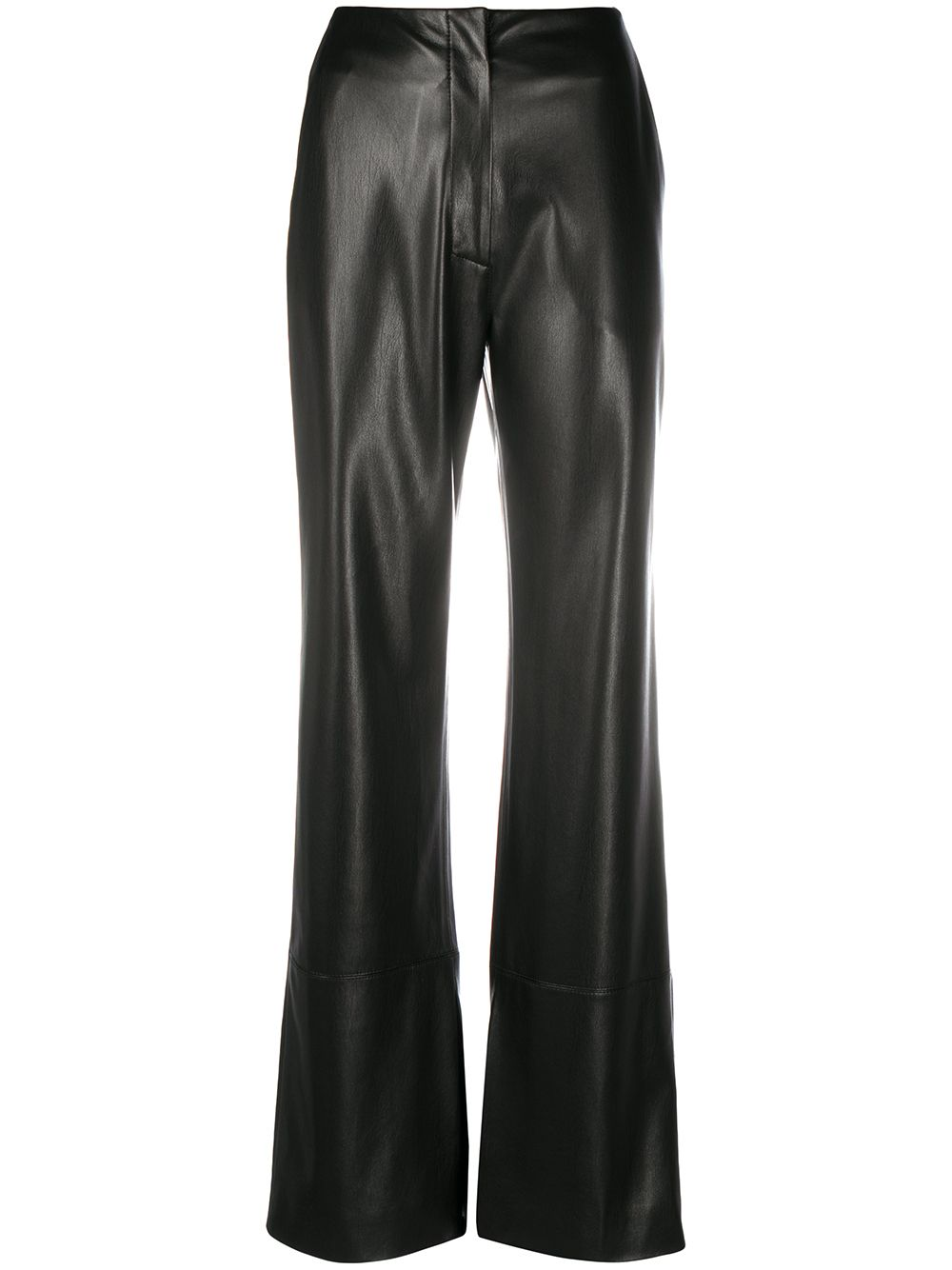 <p class='small-title'>NANUSHKA</p>Leather Trousers