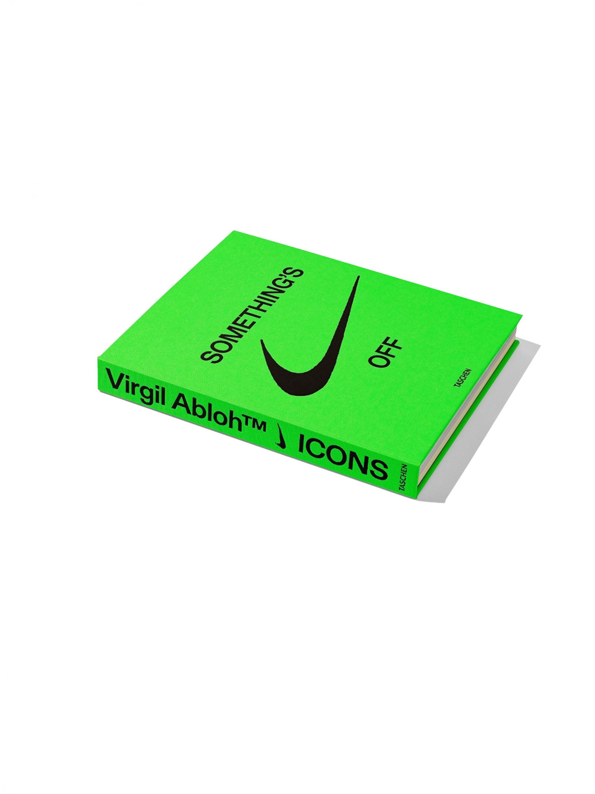 "<p class='small-title'>TASCHEN</p>TASCHEN ICONS ""Something's Off"" Nike e Virgil Abloh"