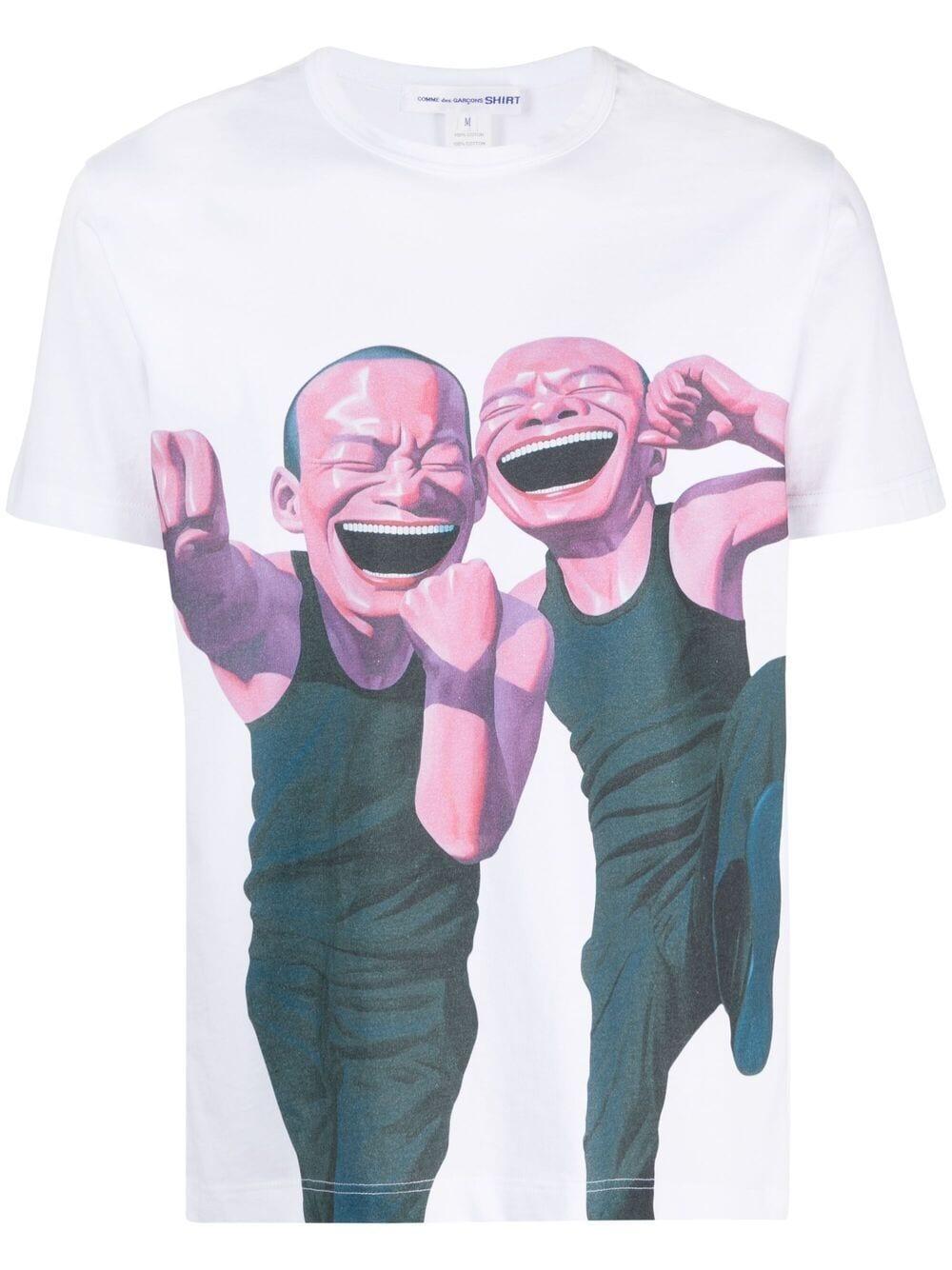 <p class='small-title'>COMME DES GARçONS SHIRT</p>T-shirt