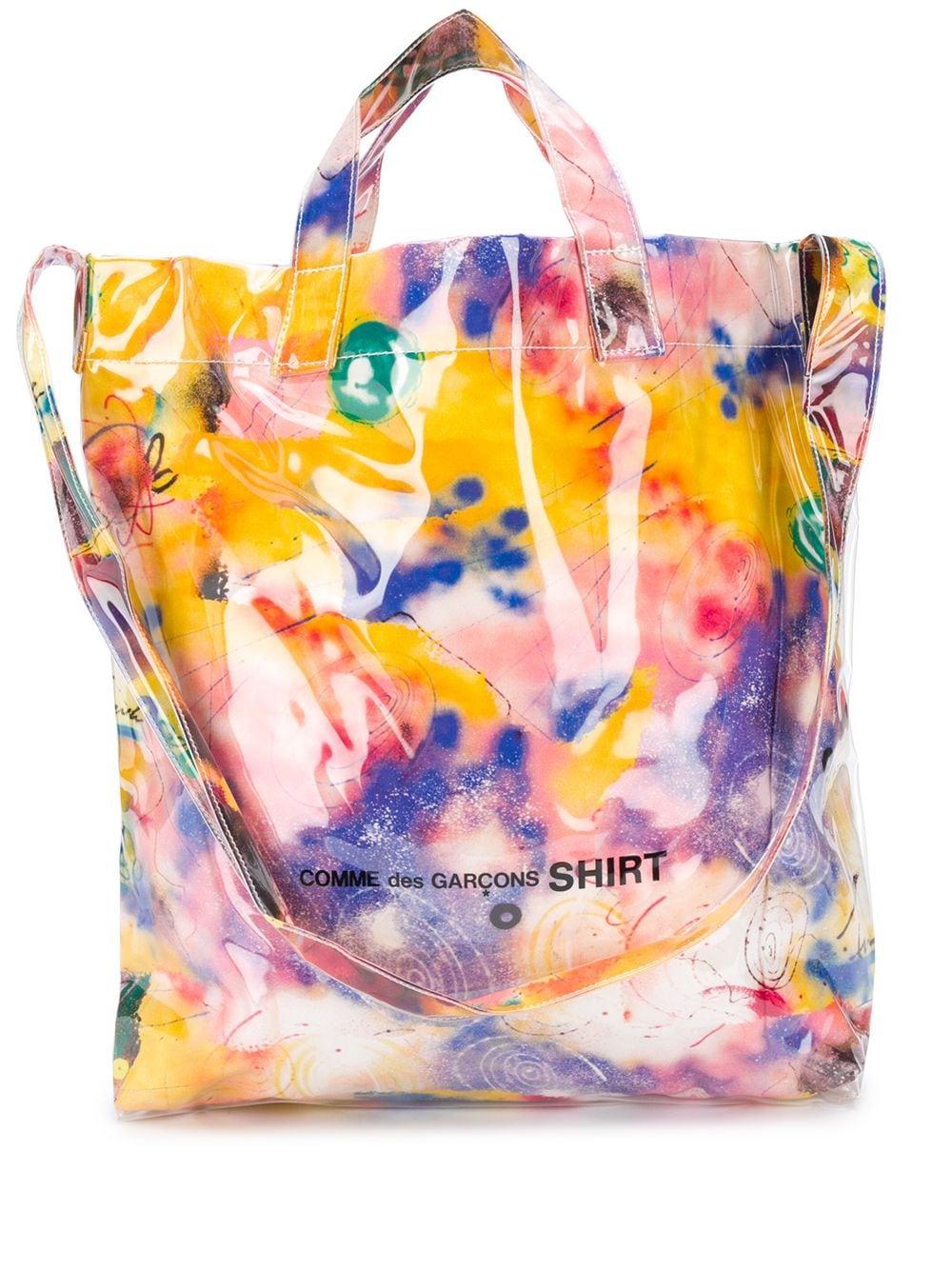 <p class='small-title'>COMME DES GARçONS SHIRT</p>COMME DES GARCONS Futura 2000 Bag