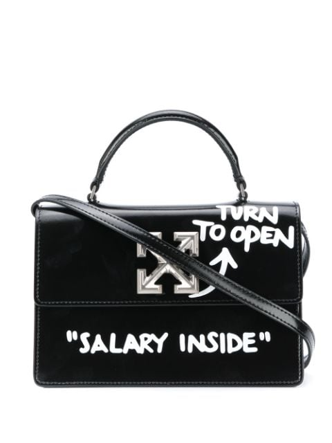 <p class='small-title'>OFF WHITE</p>1.4 Jitney Tote Bag