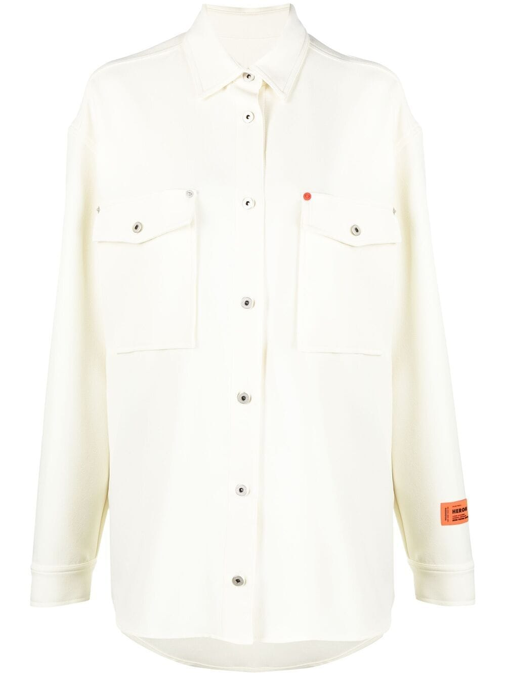 <p class='small-title'>HERON PRESTON</p>Button-Up Long-Sleeve Shirt