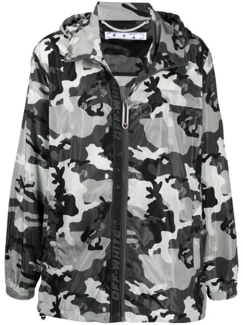 <p class='small-title'>OFF WHITE</p>Camouflage Jacket