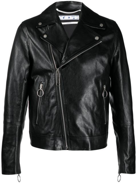 <p class='small-title'>OFF WHITE</p>Leather Jacket