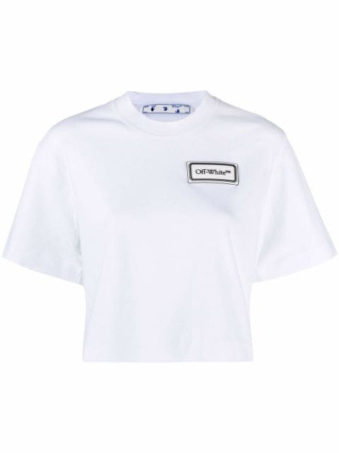 <p class='small-title'>OFF WHITE</p>Cropped T-shirt