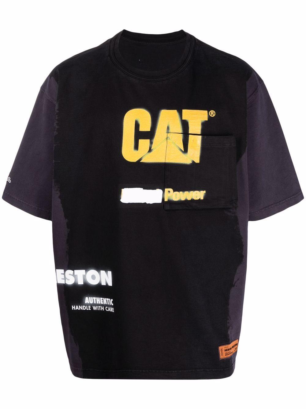 <p class='small-title'>HERON PRESTON</p>X Caterpillar Logo-Print T-Shirt