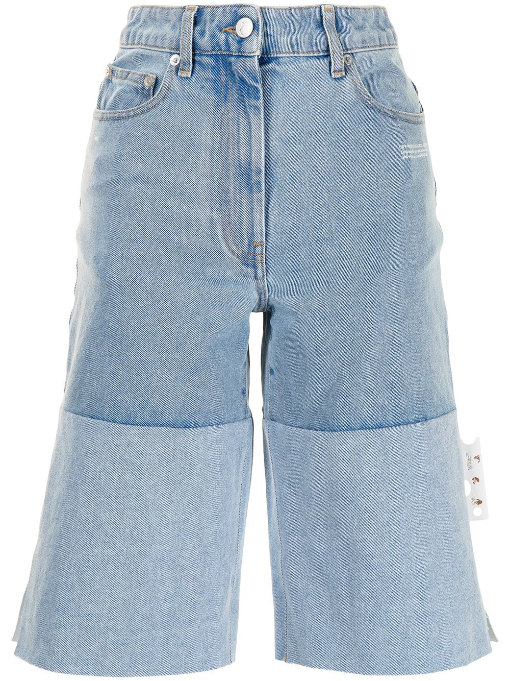 <p class='small-title'>OFF WHITE</p>Knee-Length Shorts