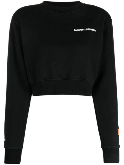 <p class='small-title'>HERON PRESTON</p>Cropped Sweatshirt