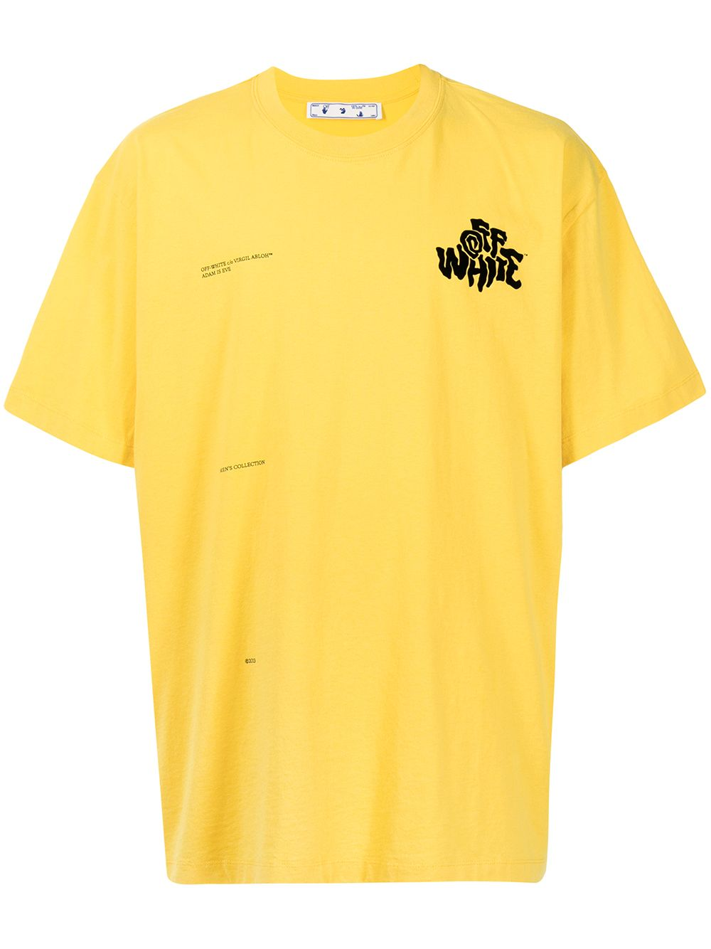 <p class='small-title'>OFF WHITE</p>Logo-Print T-Shirt