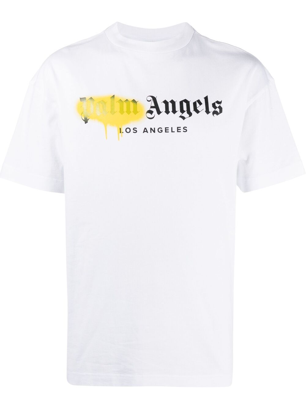 <p class='small-title'>PALM ANGELS</p>Logo-Print T-Shirt