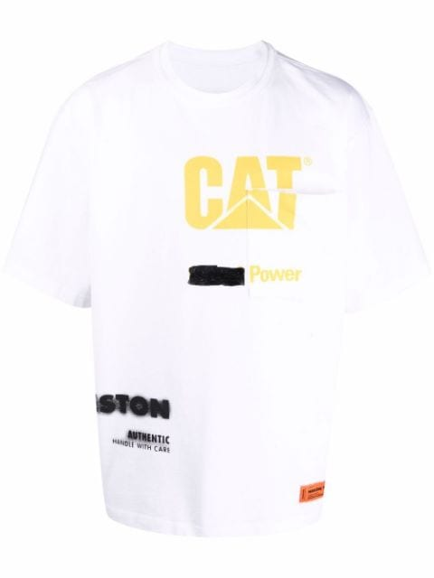 <p class='small-title'>HERON PRESTON</p>X Caterpillar Logo T-Shirt