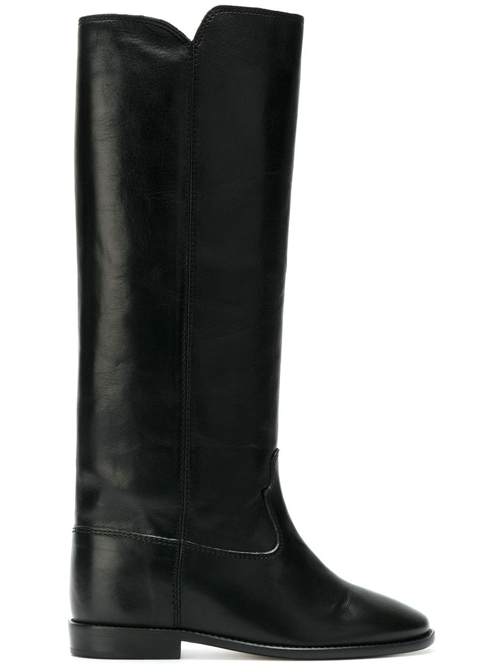 <p class='small-title'>ISABEL MARANT</p>Calf-High Boots