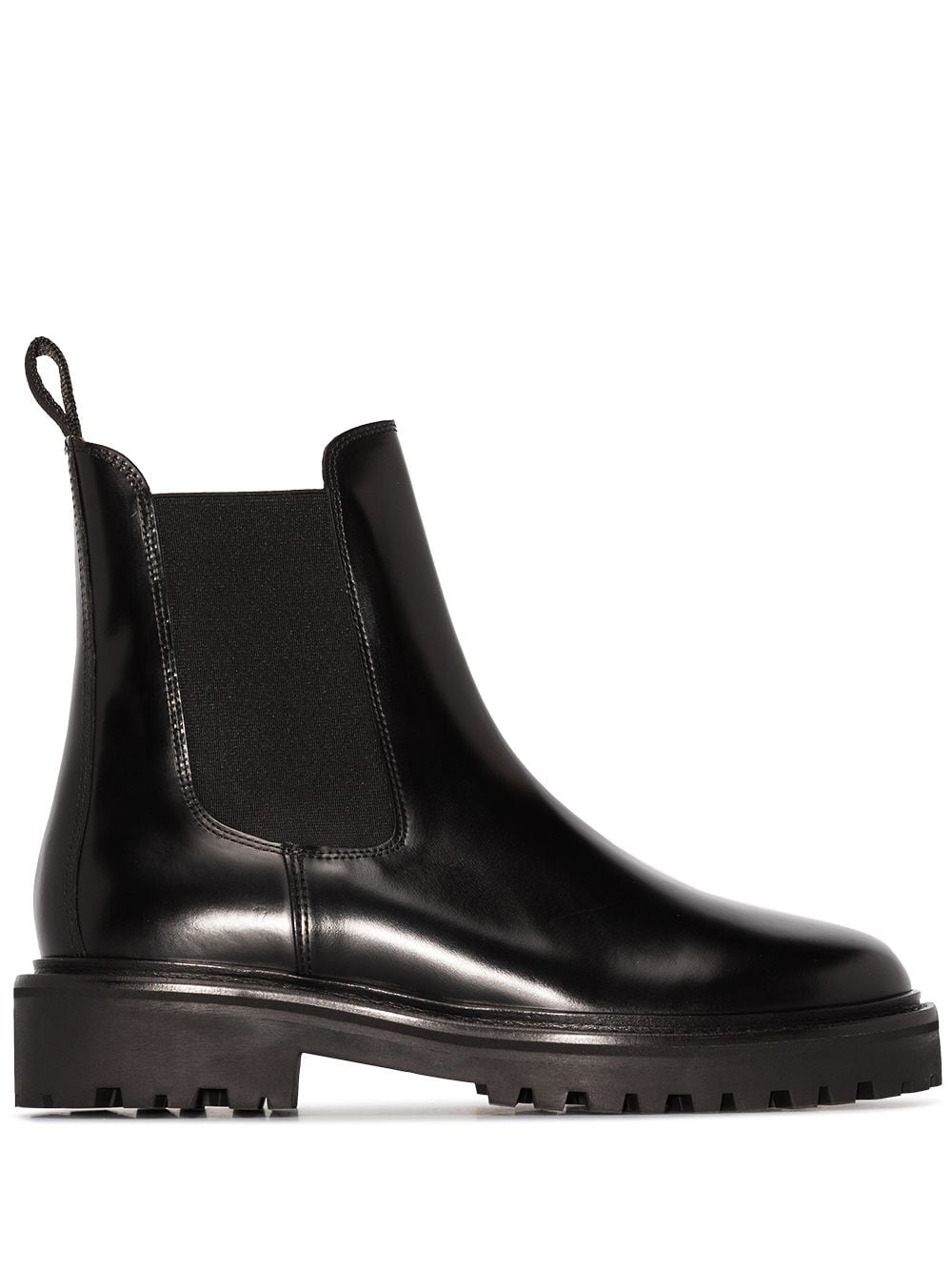 <p class='small-title'>ISABEL MARANT</p>Chelsea Boots Black Leather