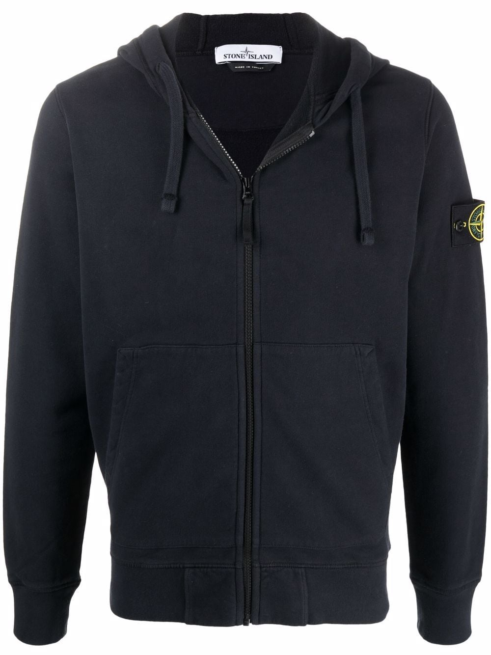 <p class='small-title'>STONE ISLAND</p>Zip Up Hoodie