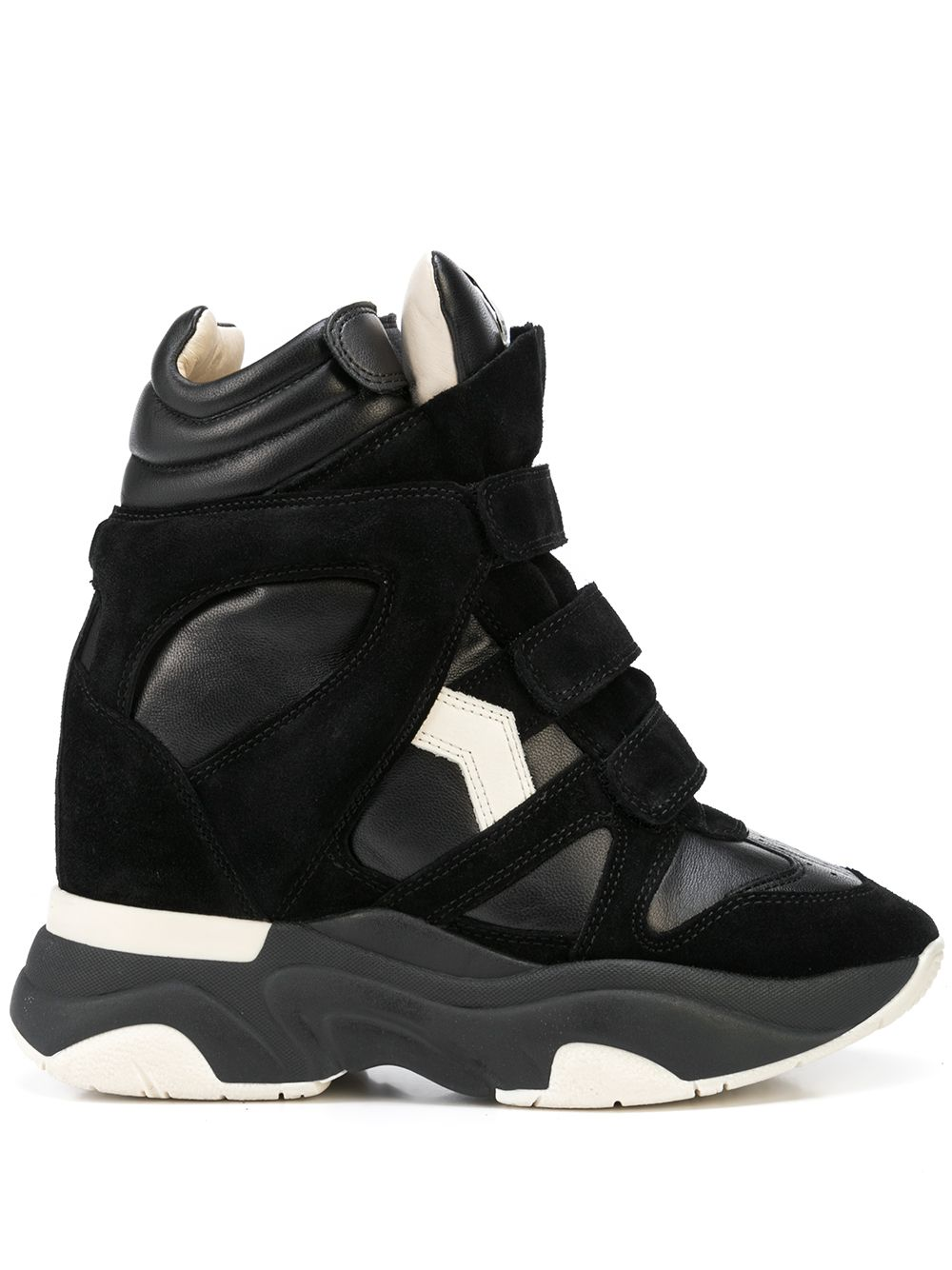 <p class='small-title'>ISABEL MARANT</p>Balskee High-Top Sneakers