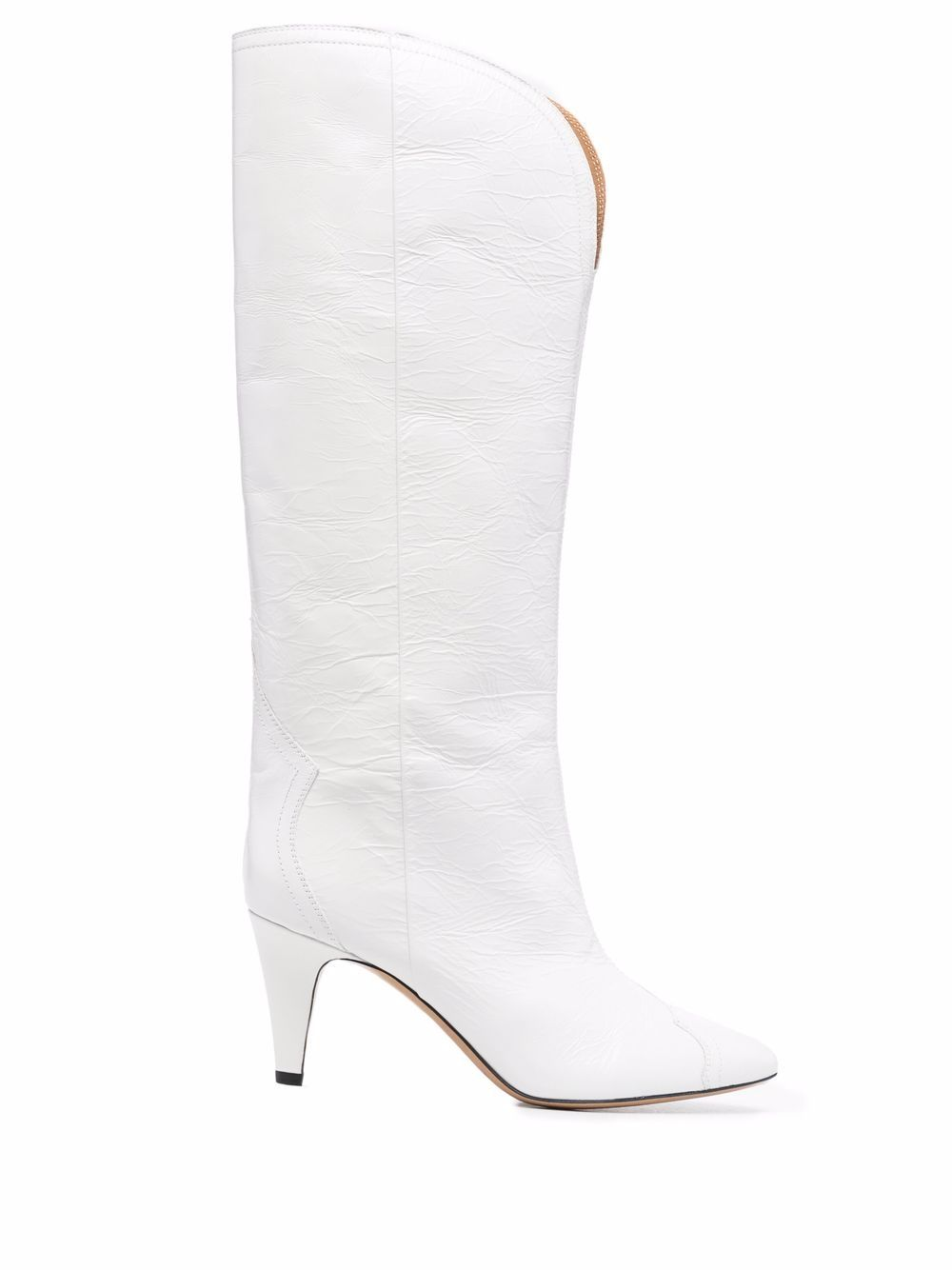 <p class='small-title'>ISABEL MARANT</p>Boots Hight leather White