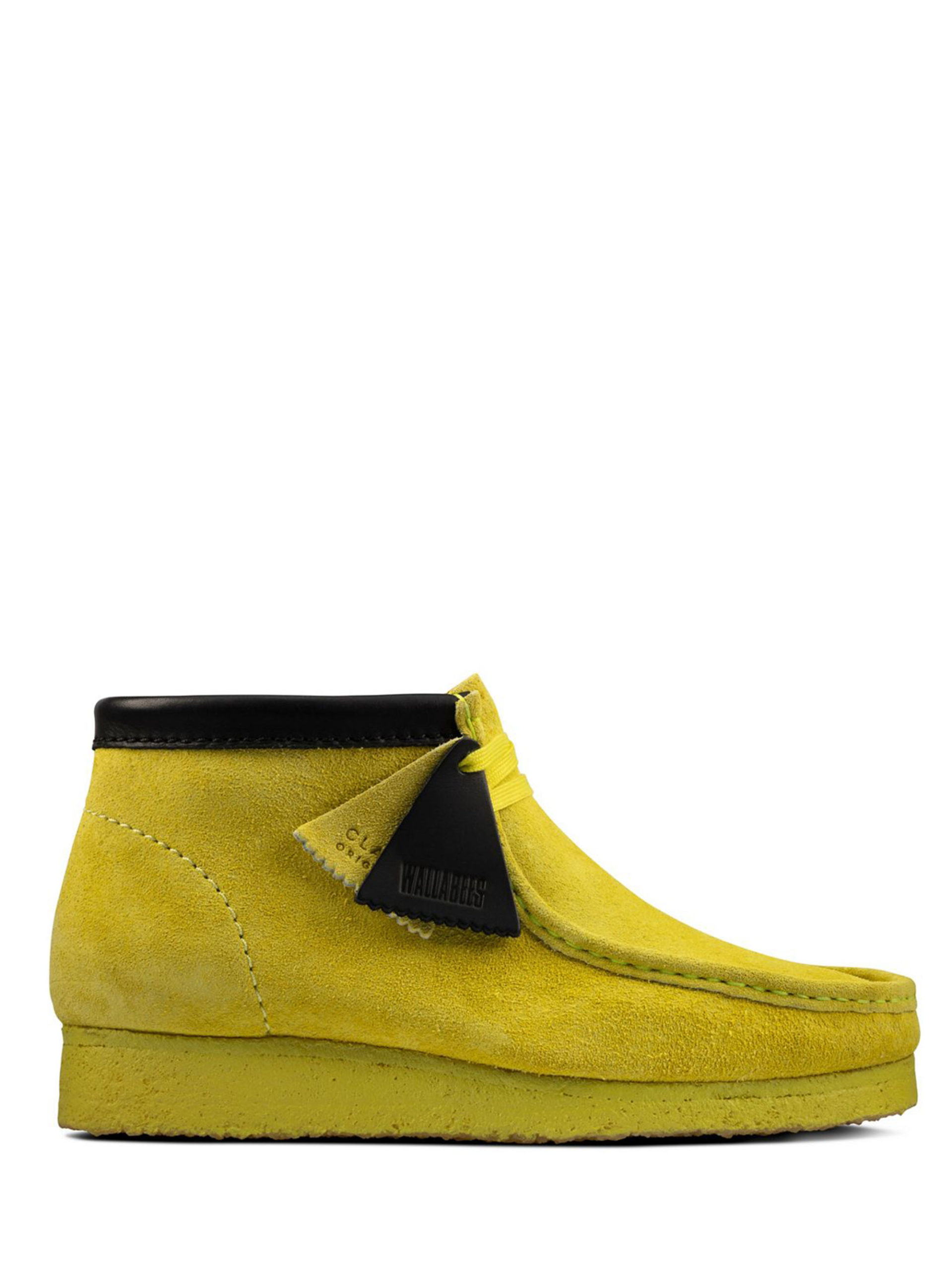 <p class='small-title'>CLARKS ORIGINALS</p>Wallabee Boot Lime M