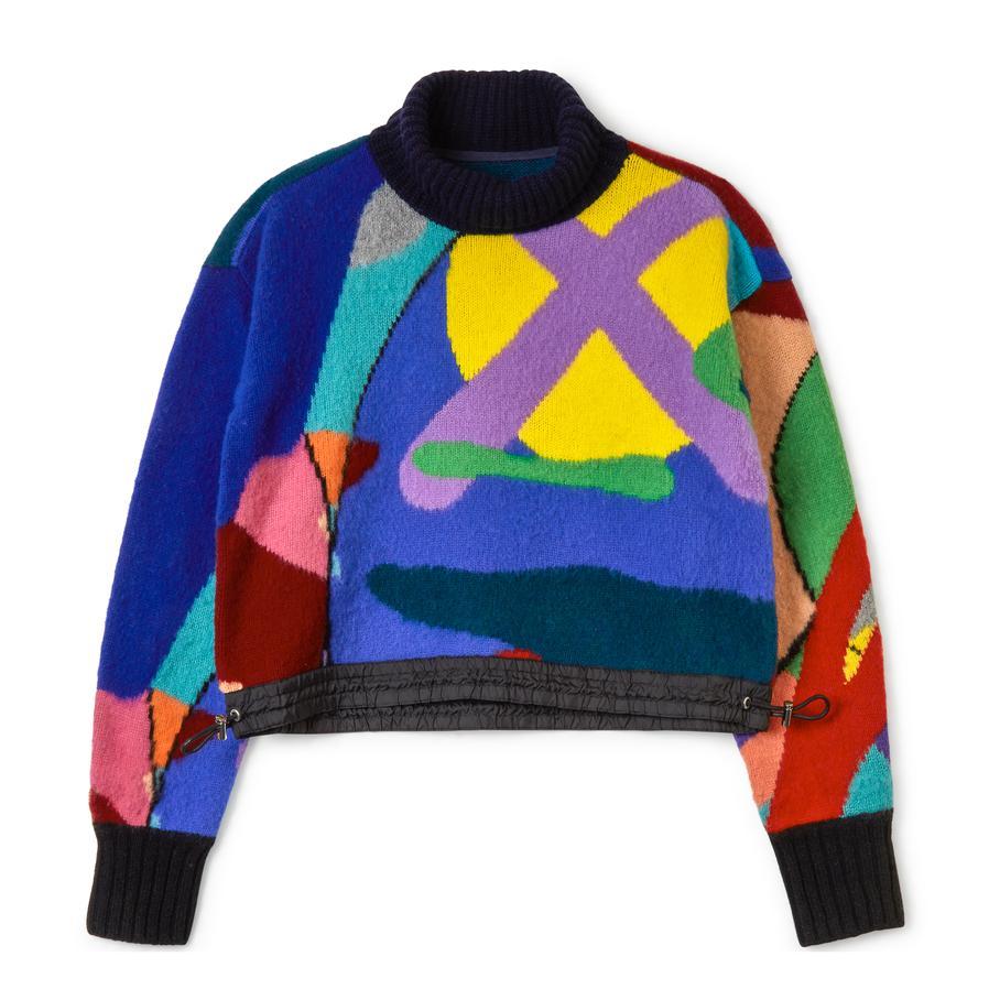 <p class='small-title'>SACAI</p>Knitwear Sacai x Kaws
