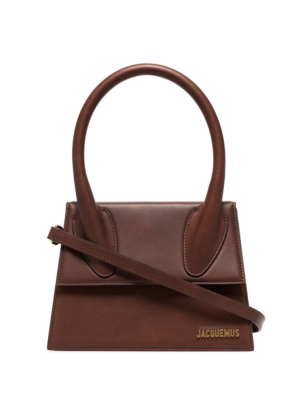 """<p class='small-title'>JACQUEMUS</p>""""Le Grand Chiquito"""" Bag Leather"""