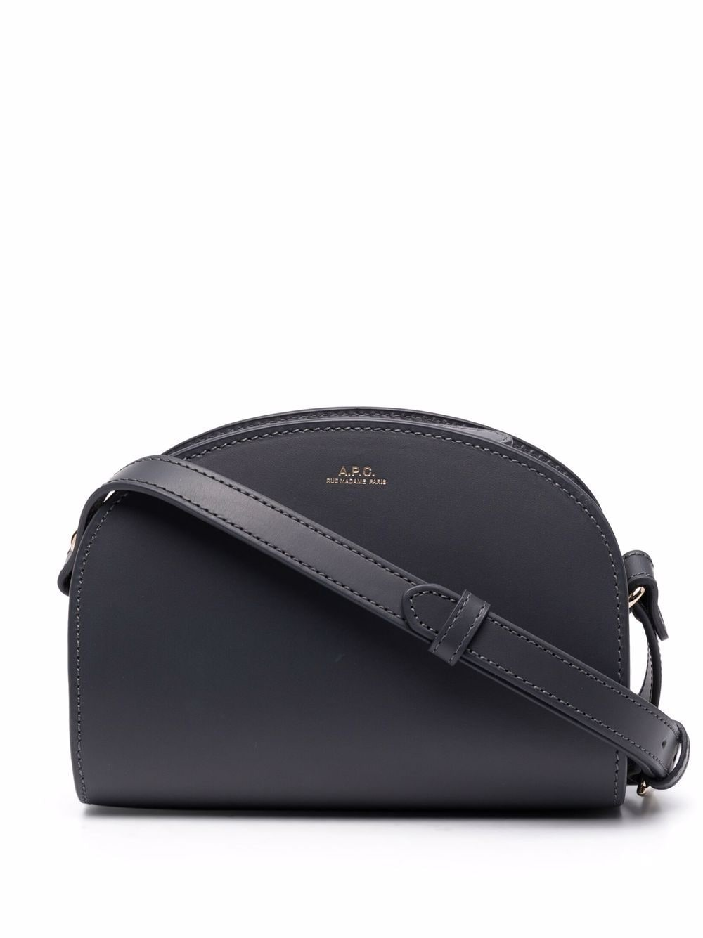 <p class='small-title'>A.P.C.</p>Demi Lune Mini Cross-Body Bag