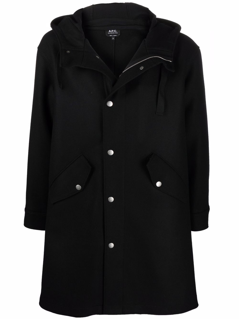 <p class='small-title'>A.P.C.</p>Hooded Coat