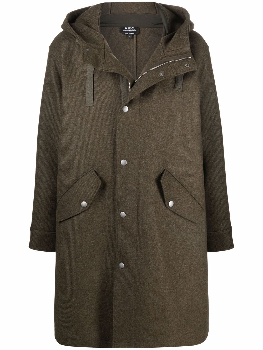 <p class='small-title'>A.P.C.</p>Single Breasted  Duffle Coat