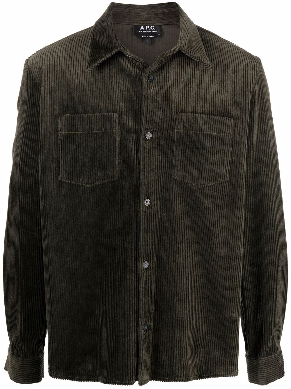 <p class='small-title'>A.P.C.</p>Corduroy Shirt