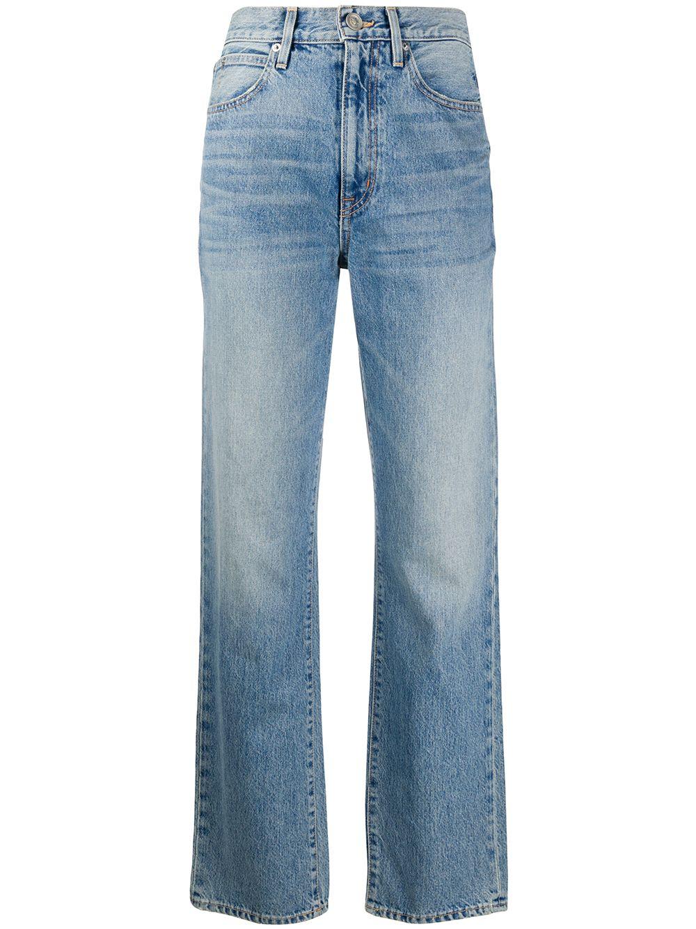 <p class='small-title'>SLVRLAKE</p>Straight-Leg Jeans