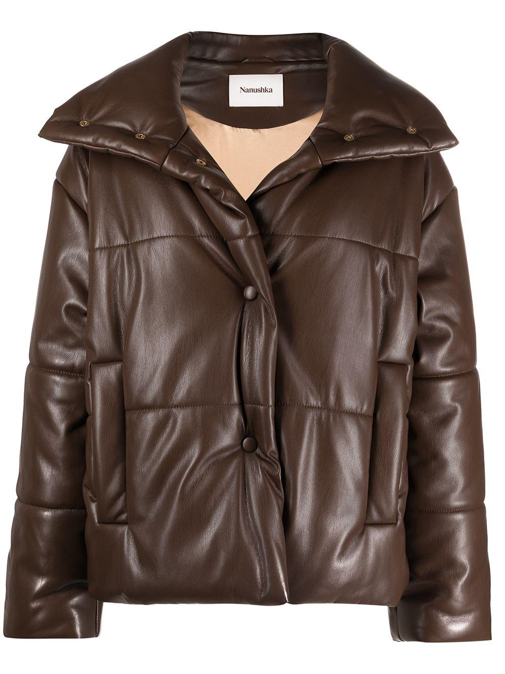 <p class='small-title'>NANUSHKA</p>Puffer Jacket