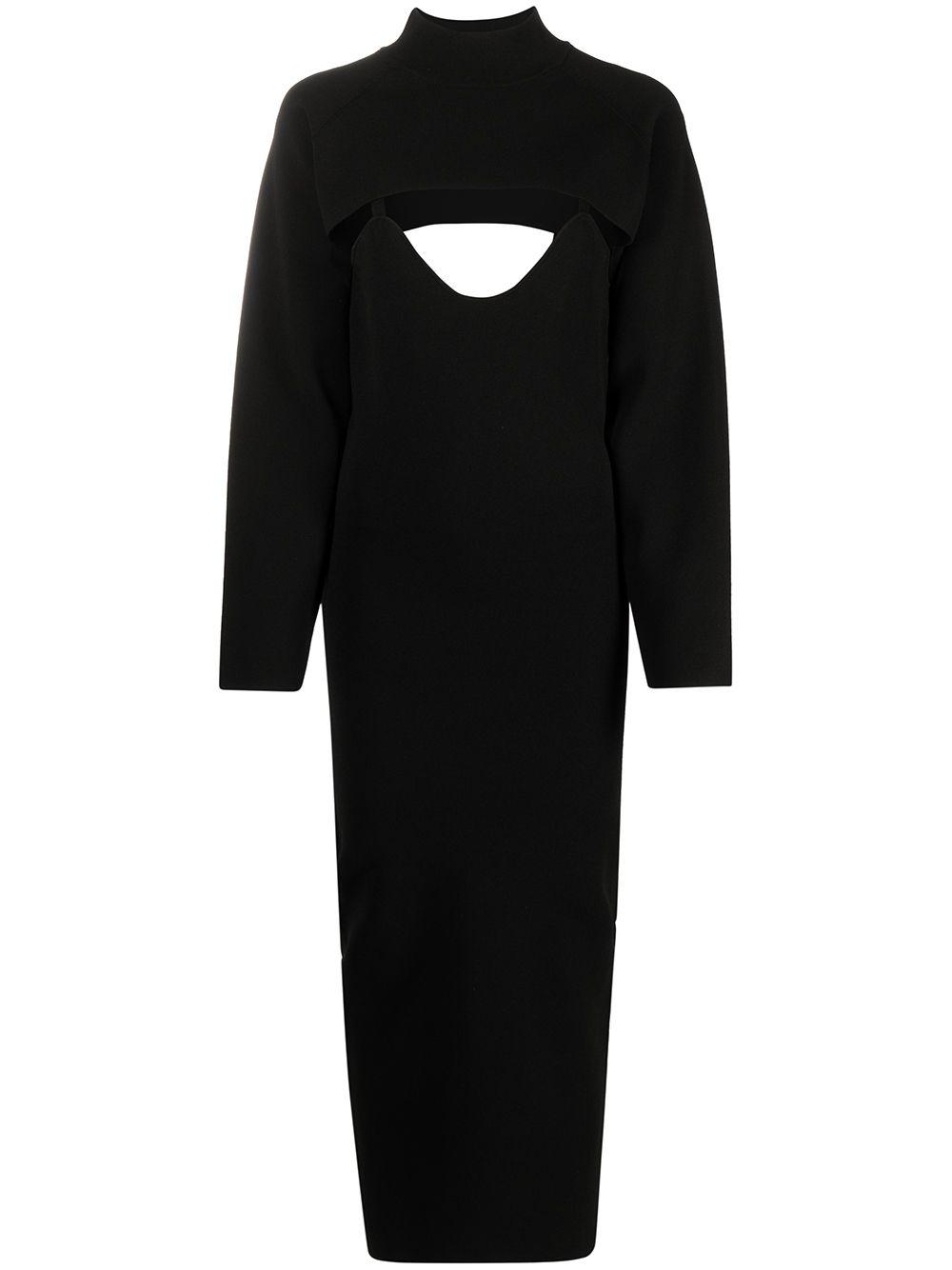 <p class='small-title'>NANUSHKA</p>Bolero Dress