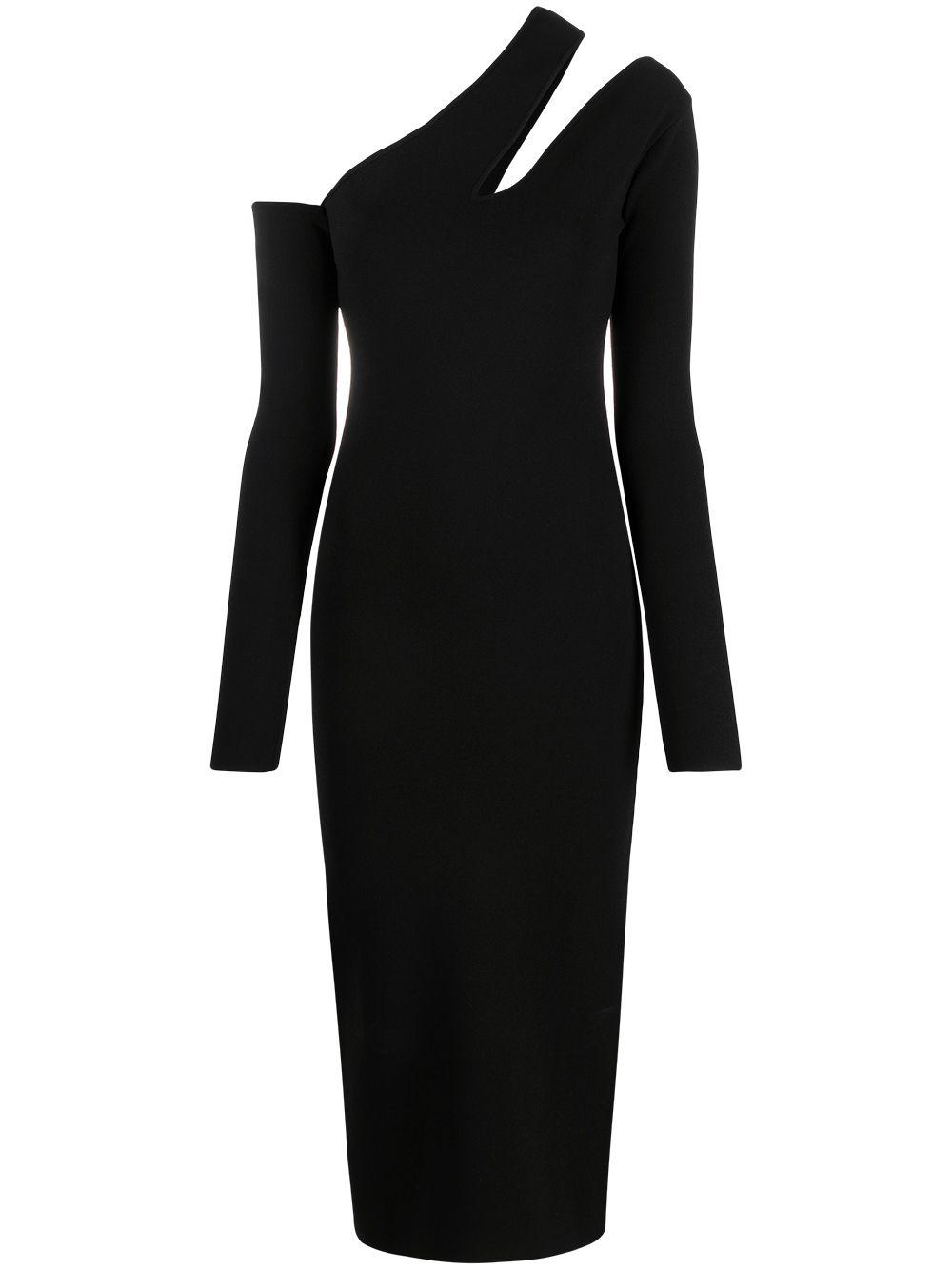 <p class='small-title'>NANUSHKA</p>Black Dress