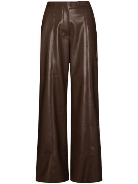 <p class='small-title'>NANUSHKA</p>Wide Leg Trousers