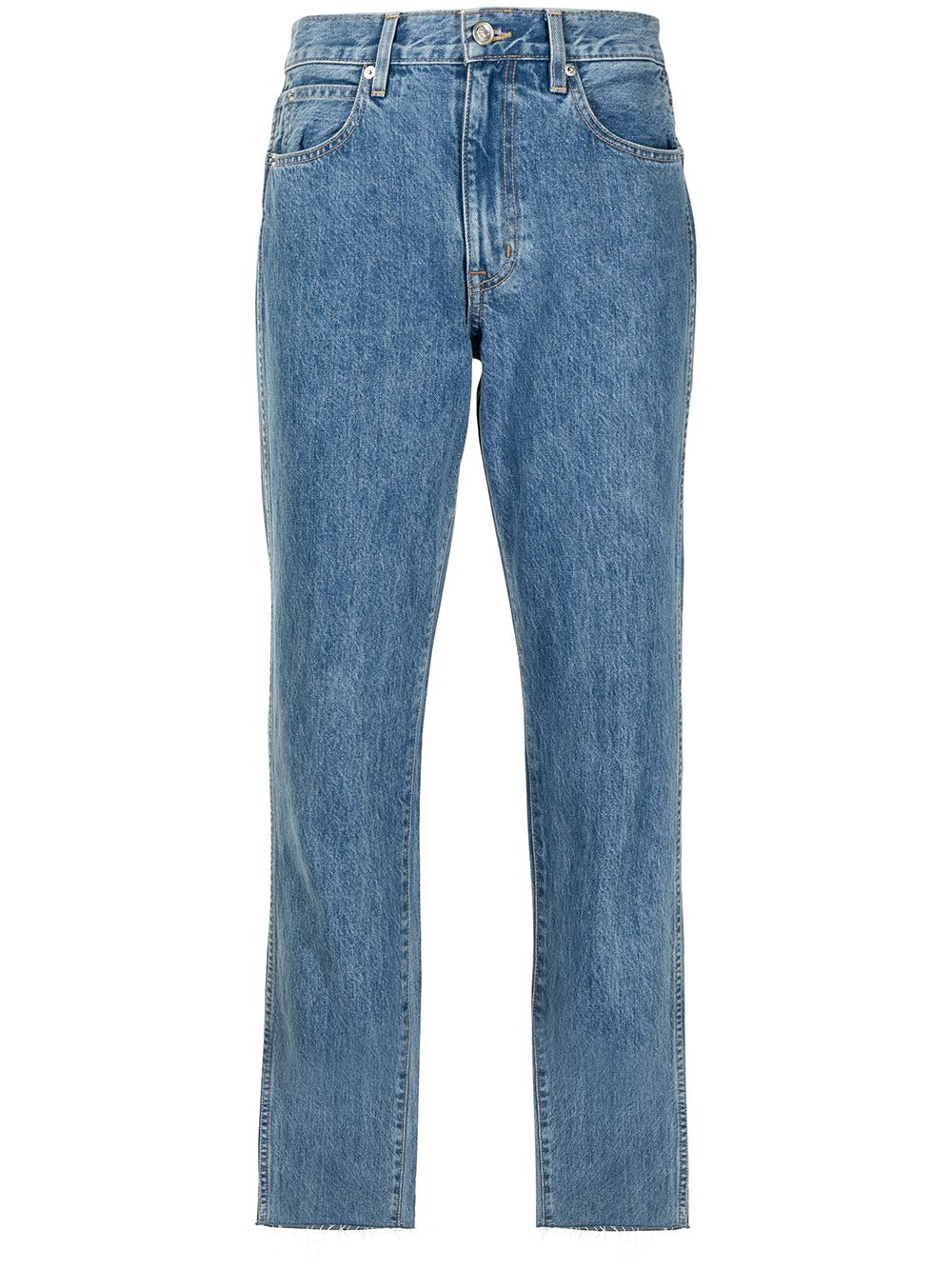 <p class='small-title'>SLVRLAKE</p>High-Rise Jeans