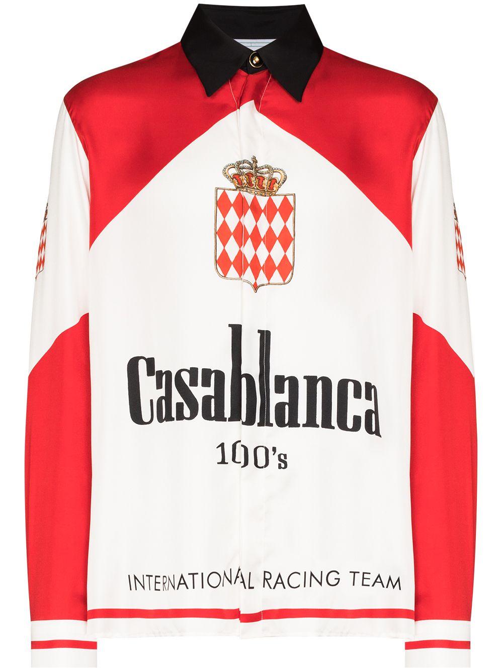 <p class='small-title'>CASABLANCA</p>Silk Shirt