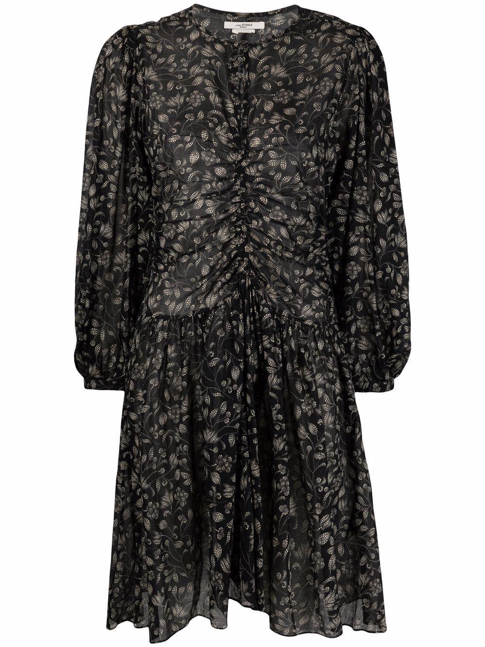<p class='small-title'>ISABEL MARANT ÉTOILE</p>Floral Print Dress