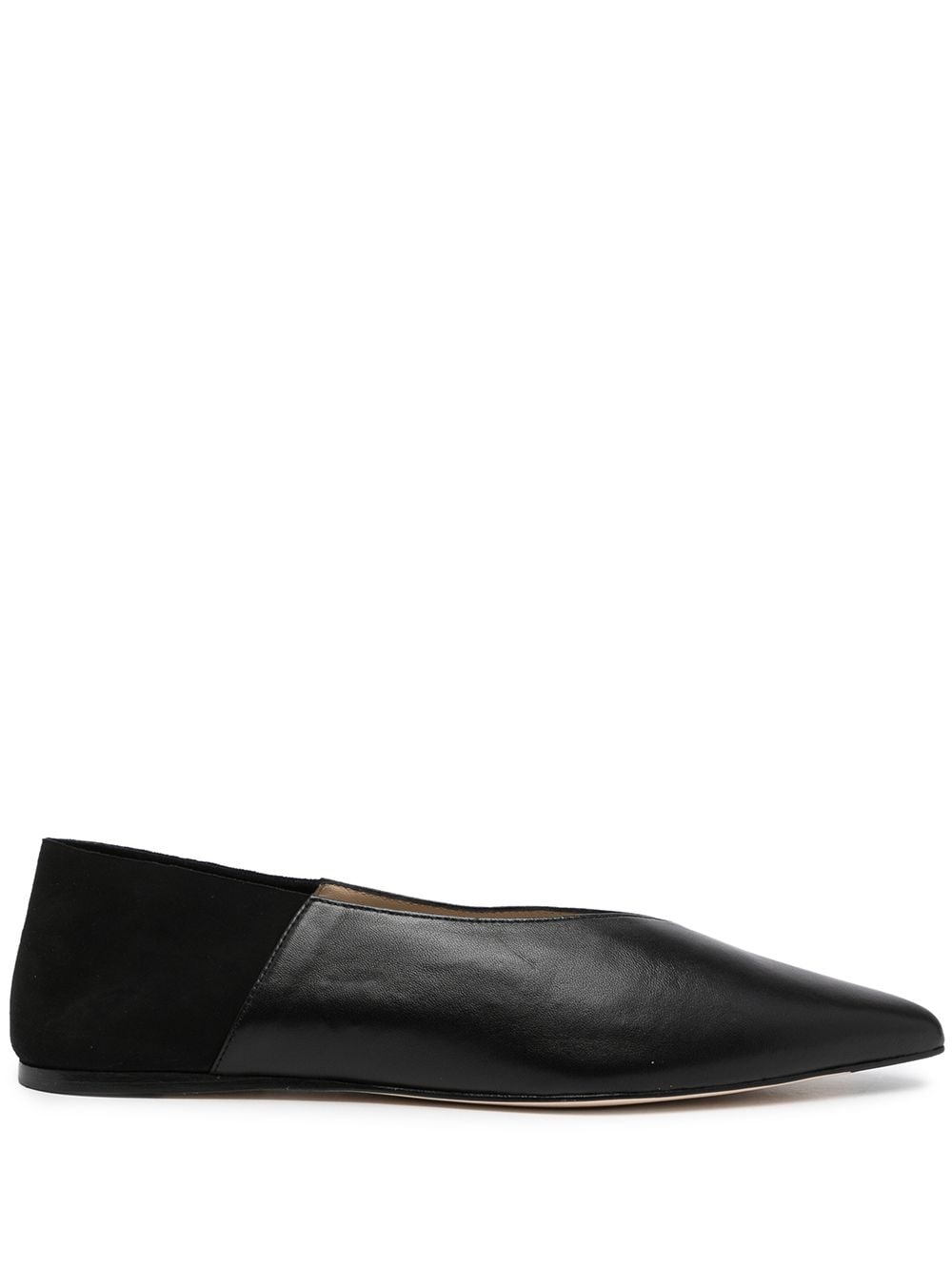 <p class='small-title'>STUDIO AMELIA</p>Pointed-Toe Slippers