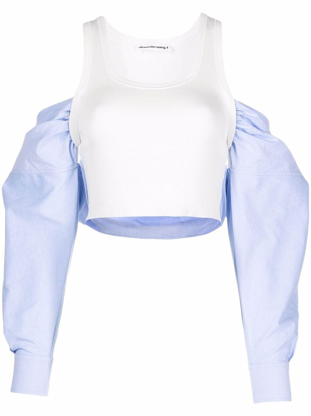 <p class='small-title'>ALEXANDERWANG.T</p>Shirt Top