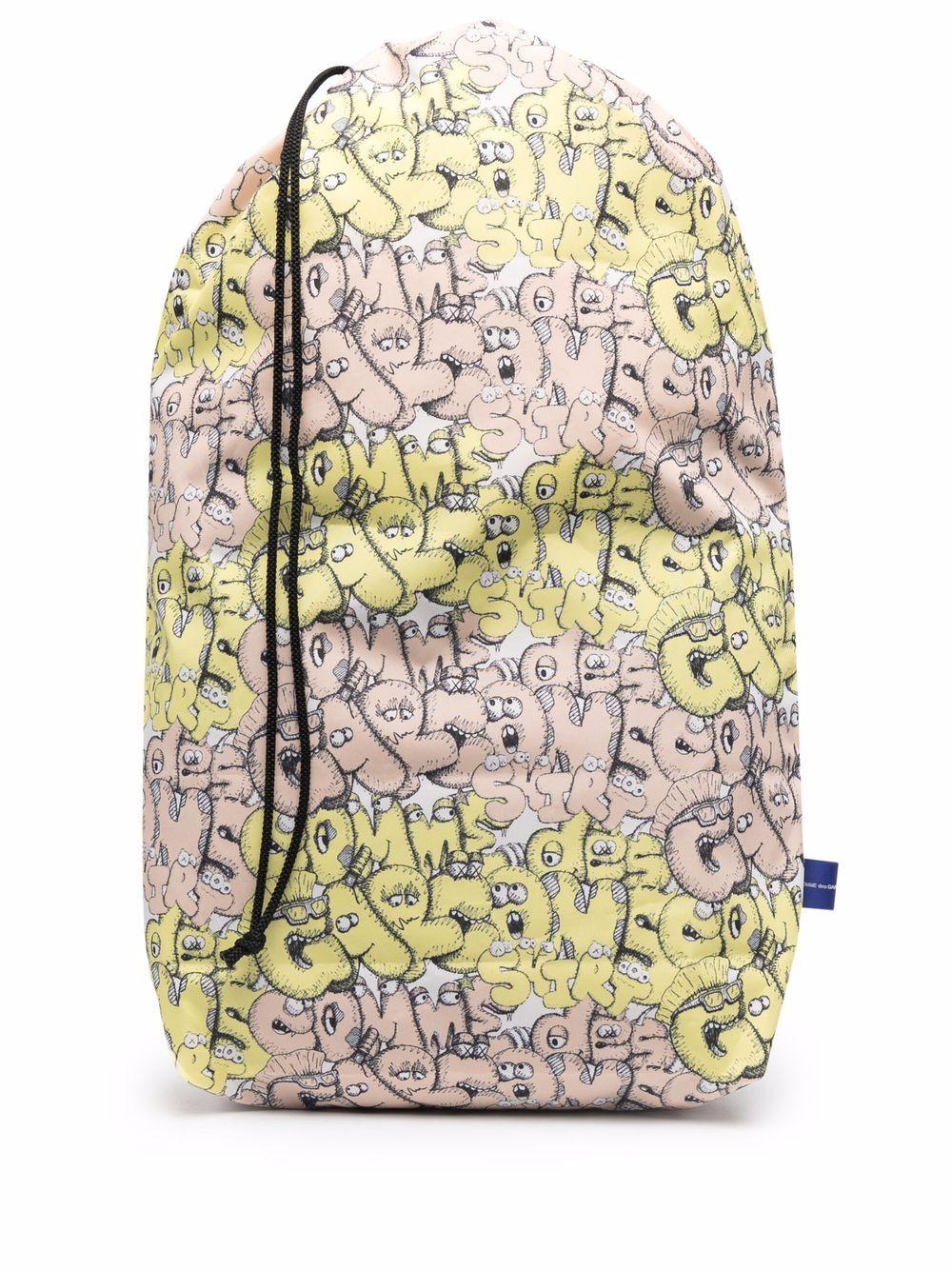 <p class='small-title'>COMME DES GARçONS SHIRT</p>Comme Des Garçons x Kaws Bag