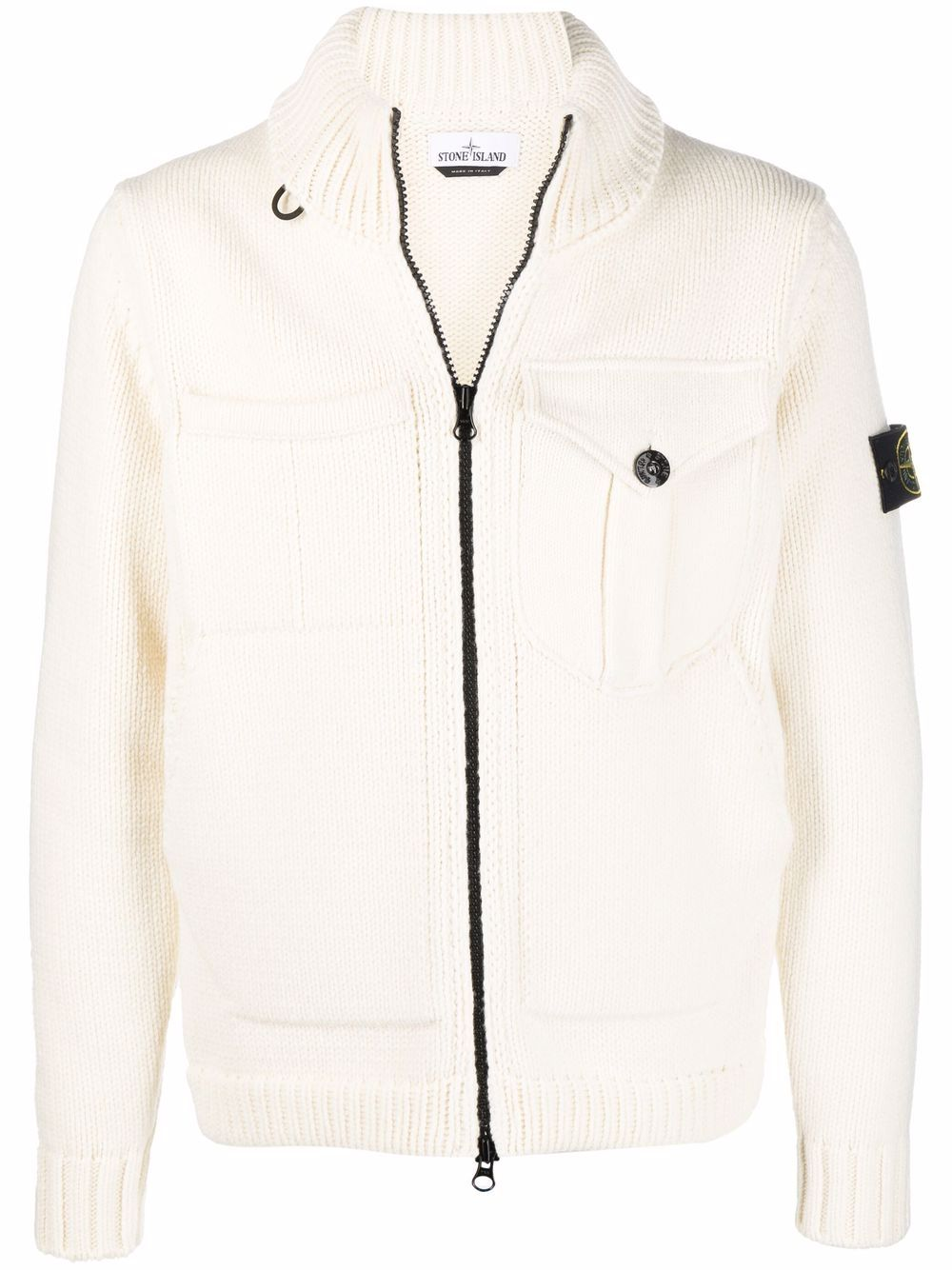 <p class='small-title'>STONE ISLAND</p>Knitted Jacket
