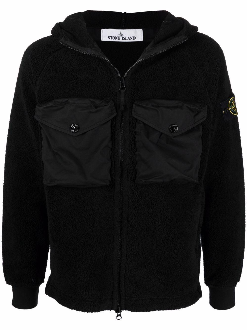 <p class='small-title'>STONE ISLAND</p>Fleece Jacket