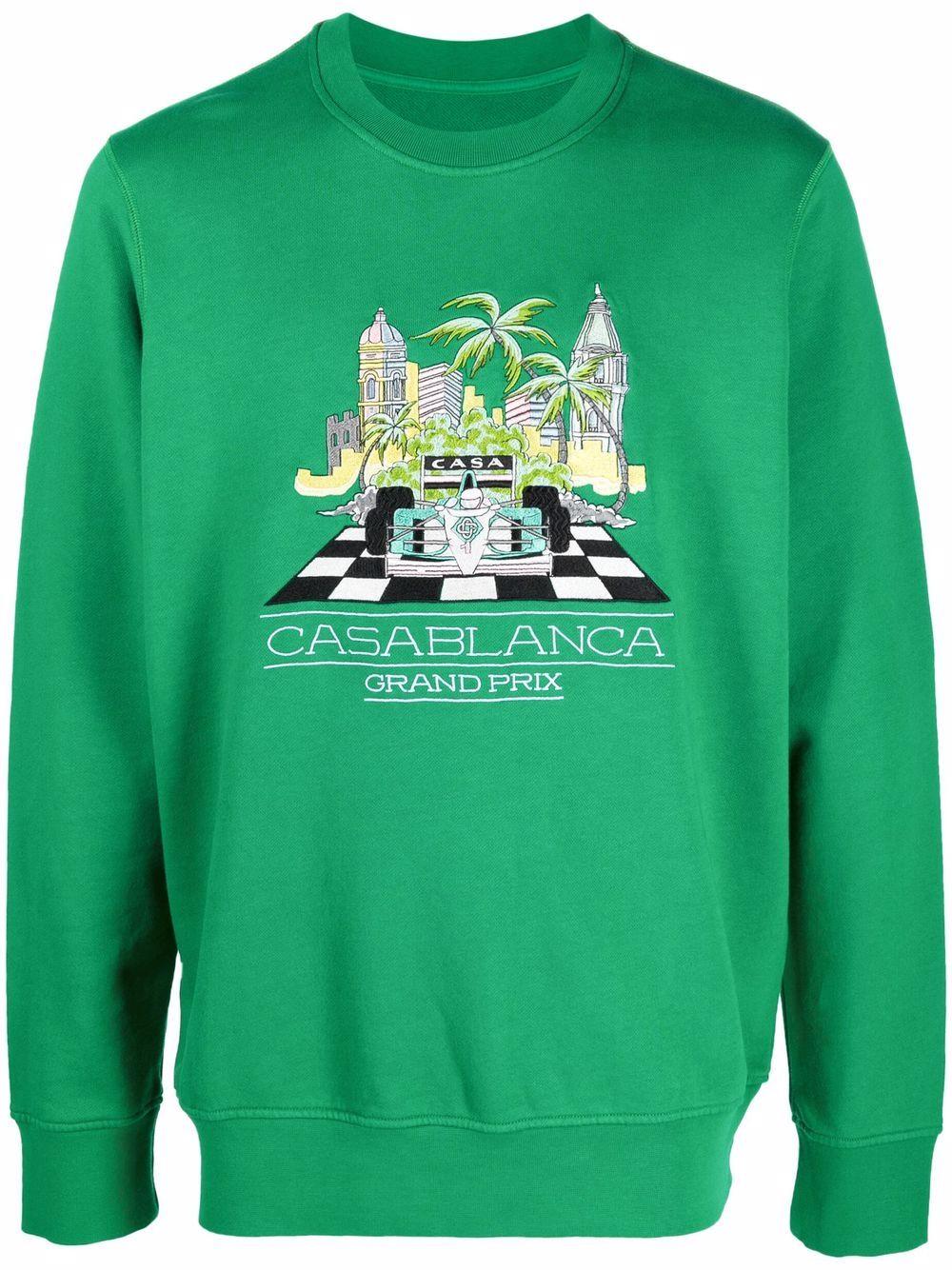 <p class='small-title'>CASABLANCA</p>Sweater
